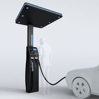 Electric fuel charger